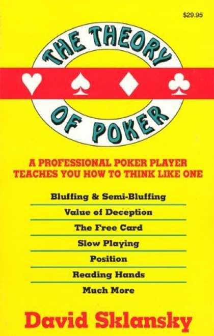 Теория покера дэвид склански читать онлайн бесплатно игровые автоматы скачать для с 7 00